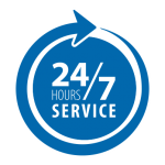24 Hour Service at Reed's Heating and Cooling Inc.