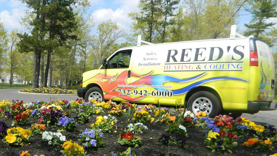 Reeds Heating and Cooling Inc.'s Van